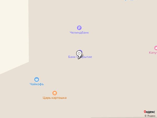 33 комода на карте Миасса