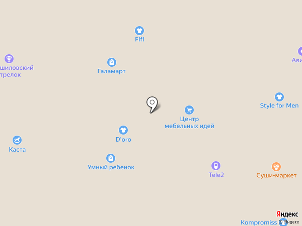 МарЛен на карте Миасса