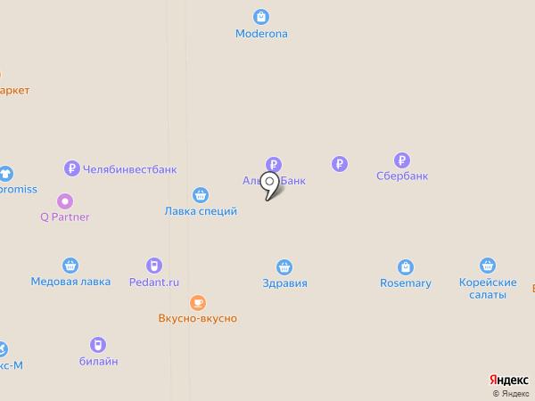 NINEL на карте Миасса