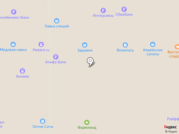 Гони Копти на карте Миасса