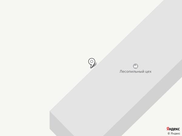 Лесопильный цех на карте Миасса