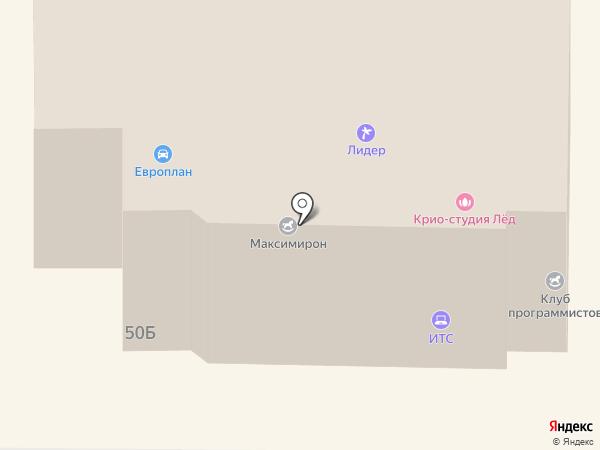 ВСК, САО на карте Миасса