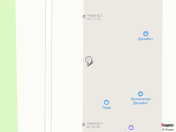 Муравей на карте Миасса