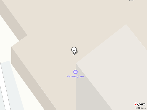 Телмико на карте Миасса