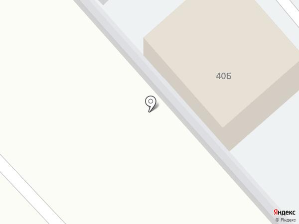 Автостоянка на карте Миасса
