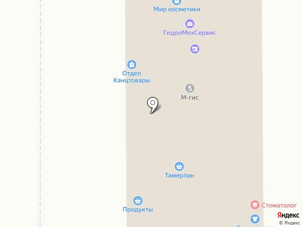 Аршинъ на карте Миасса