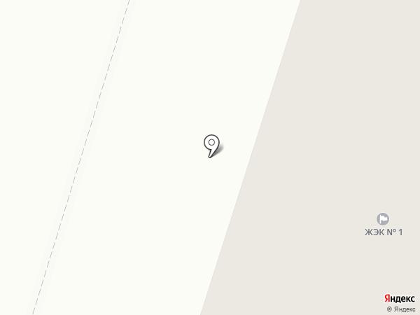 ЖЭК №1 на карте Нижнего Тагила