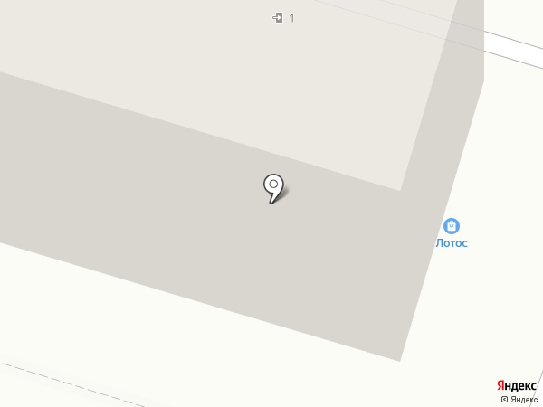 Лотос на карте Нижнего Тагила
