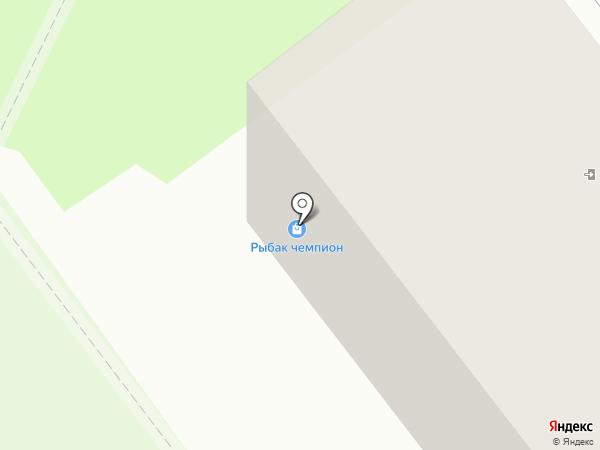 Тонус-центр на карте Миасса