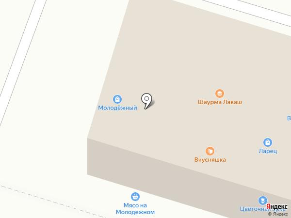 Благодать на карте Нижнего Тагила