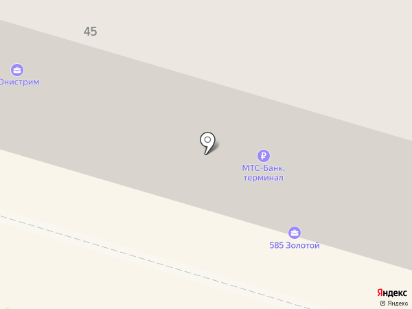 Золотой на карте Нижнего Тагила