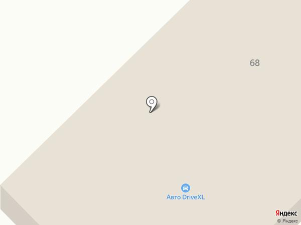Омега Моторс на карте Миасса