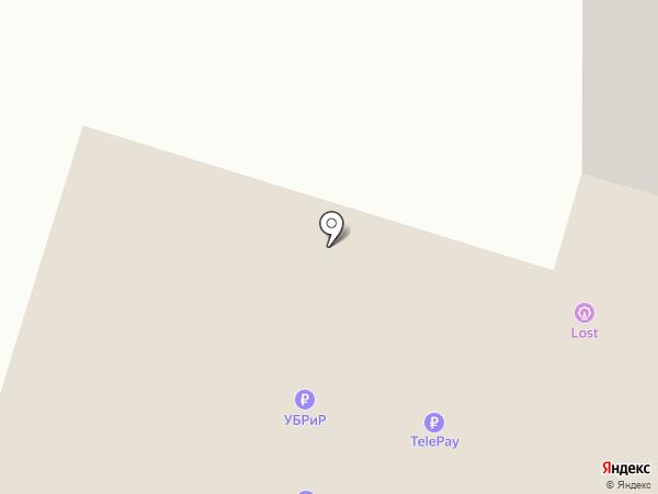 АС-студия на карте Нижнего Тагила