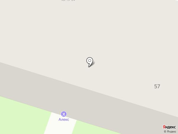 Фианит-ломбард на карте Нижнего Тагила