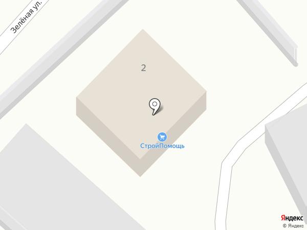 Компания по продаже цемента и кладочной сетки на карте Миасса