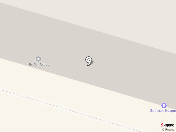 585 GOLD на карте Нижнего Тагила