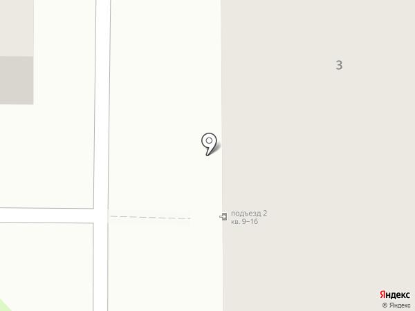 Рубин на карте Миасса