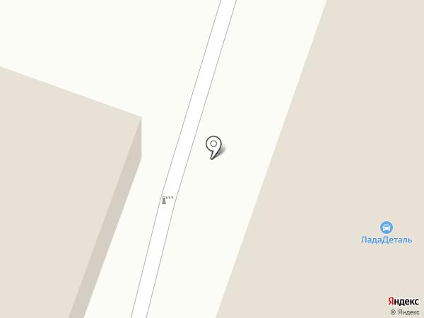 Магазин автозапчастей для Lada на карте Миасса