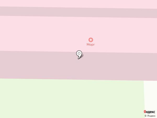 Городская больница №2 на карте Миасса