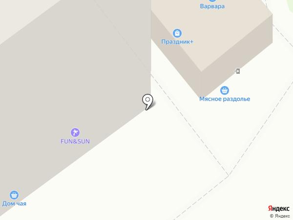 Праздник+ на карте Миасса