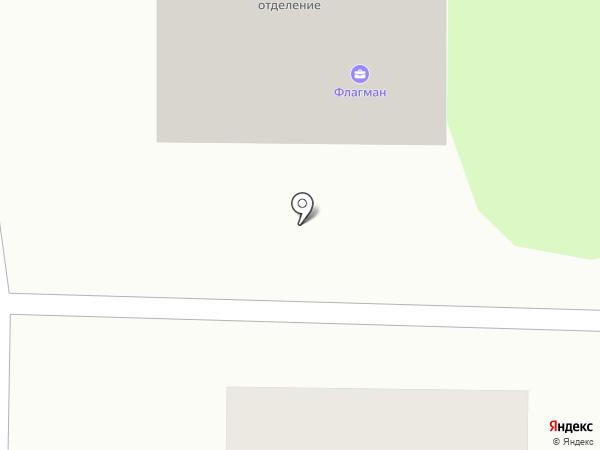 Флагман на карте Миасса
