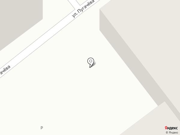 Магазин автозапчастей и строительных материалов на карте Миасса