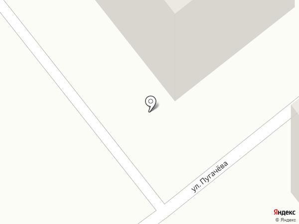 Тринити на карте Миасса