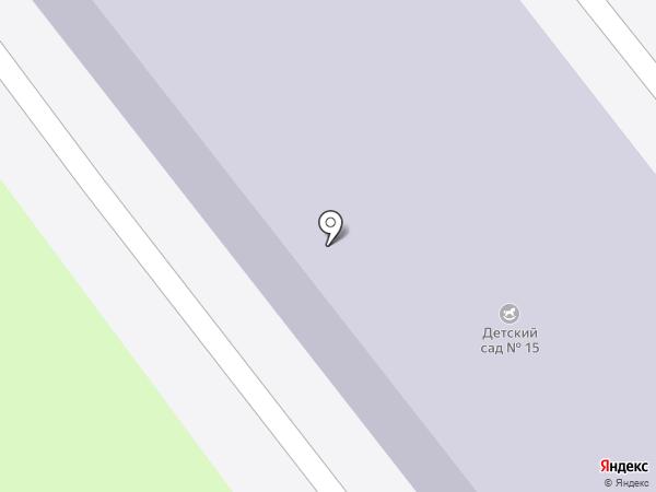 Детский сад №15 на карте Миасса