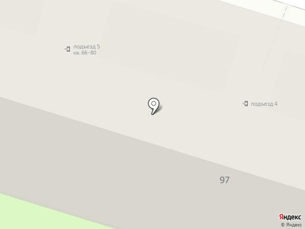 ЖЭУ №7 на карте Нижнего Тагила