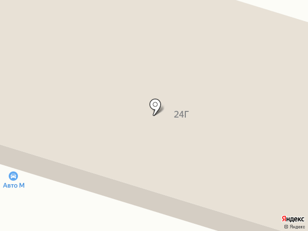 АвтоМ на карте Нижнего Тагила