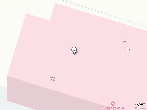 Скорая медицинская помощь на карте Нижнего Тагила