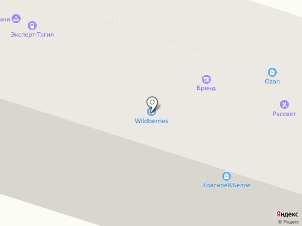 Кредо на карте Нижнего Тагила