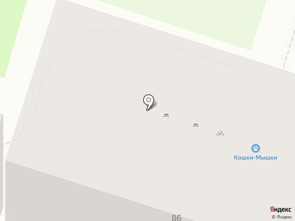 Amigo на карте Нижнего Тагила