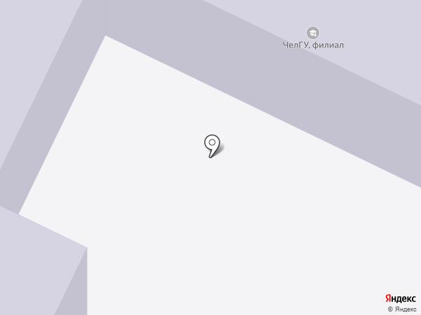 Копирус на карте Миасса