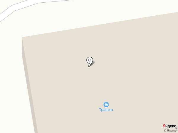 Транзит на карте Миасса
