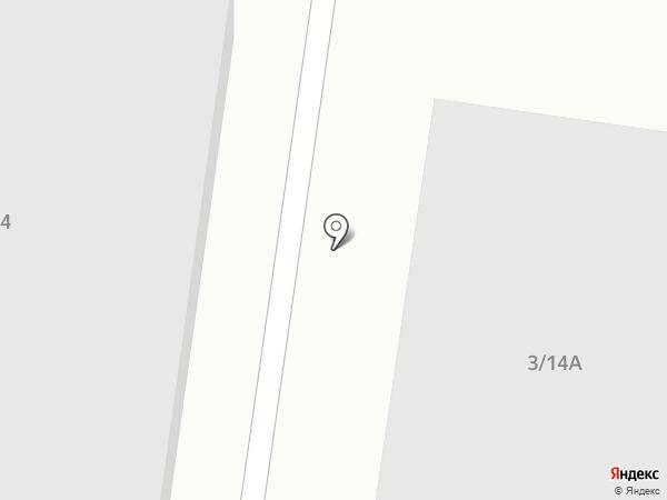 Вектор на карте Миасса