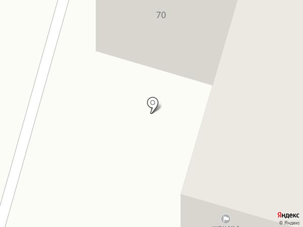 ЖЭК №3 на карте Нижнего Тагила