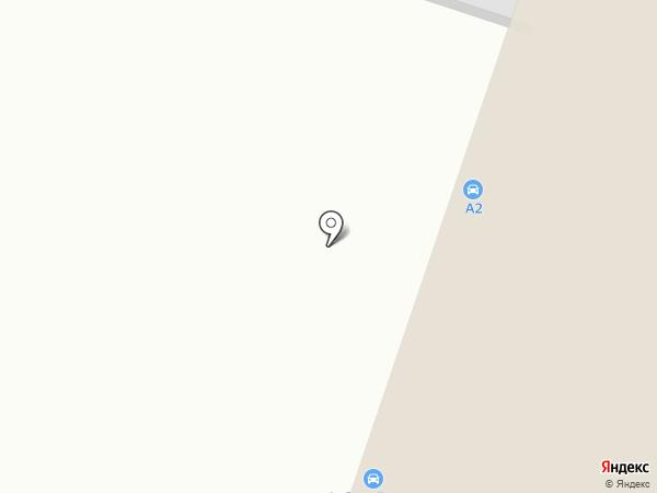 Планета Авто на карте Нижнего Тагила