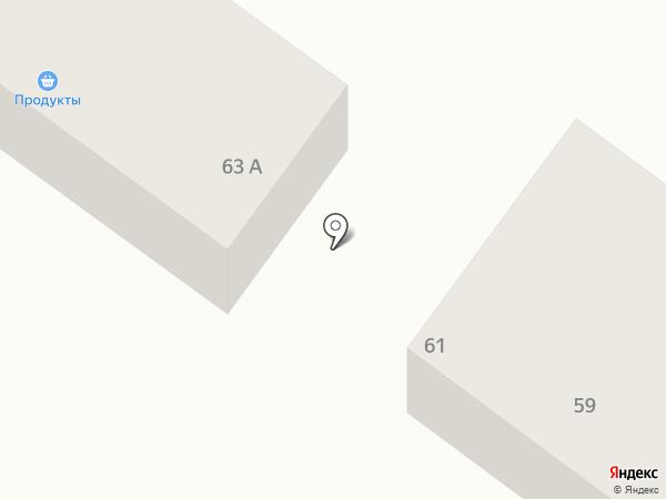 Эль-Ком на карте Миасса