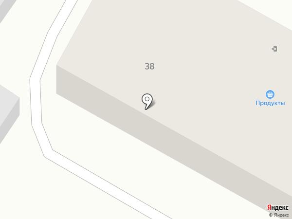 Продуктовый магазин на ул. Труда на карте Миасса