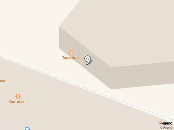 Каприз на карте Нижнего Тагила