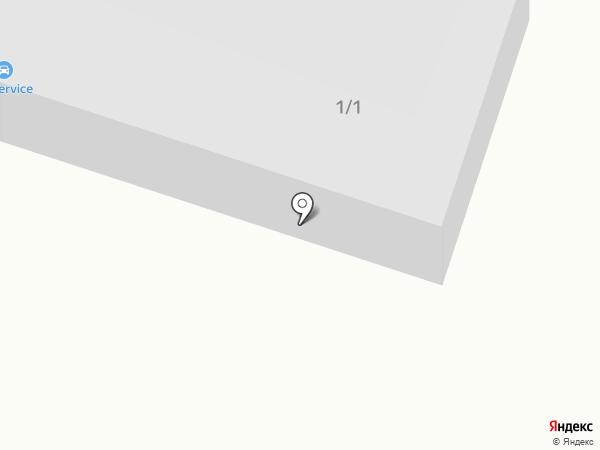 TRS на карте Миасса