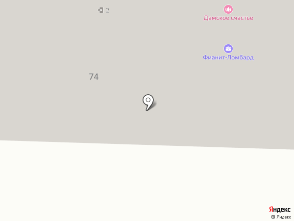 Фианит-Ломбард на карте Миасса
