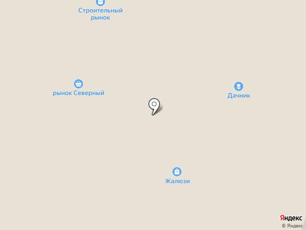 Дачник на карте Миасса