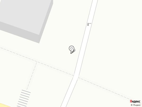 Колос на карте Миасса