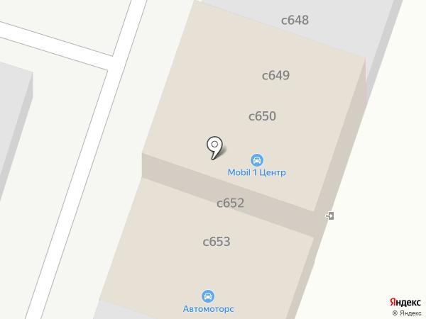 Мобил на карте Миасса