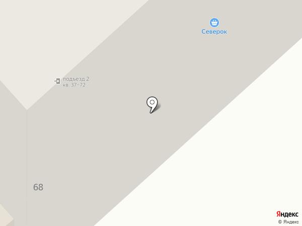 Технологии Комфорта-М на карте Миасса