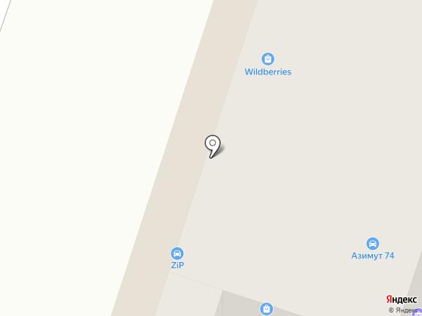 Колибри на карте Миасса