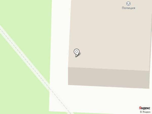 Участковый пункт полиции, Отдел полиции №18 на карте Миасса