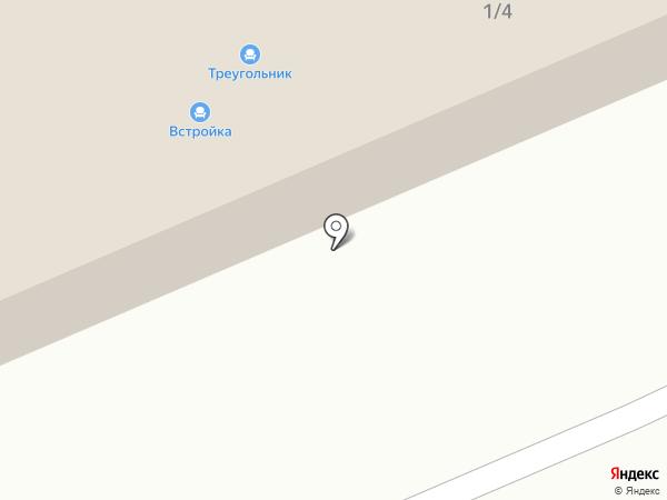 Встройка на карте Миасса